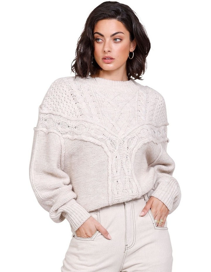Westward Knit Sweater Ivory image 1