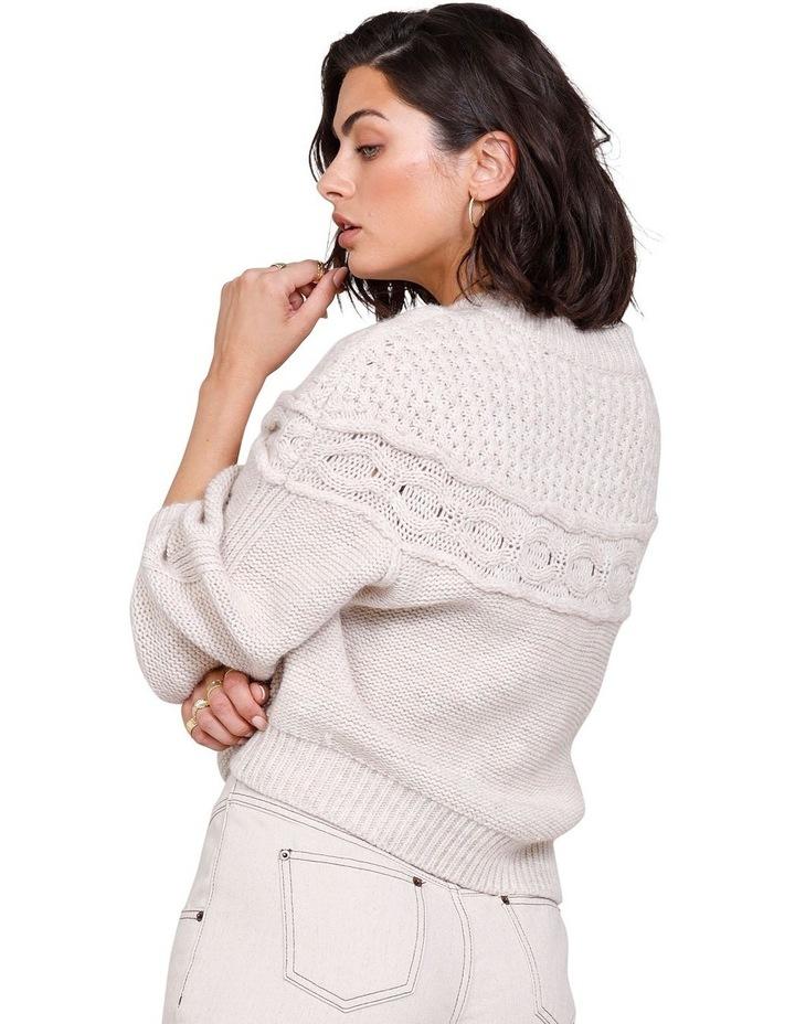 Westward Knit Sweater Ivory image 2