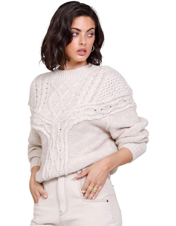 Westward Knit Sweater Ivory image 3