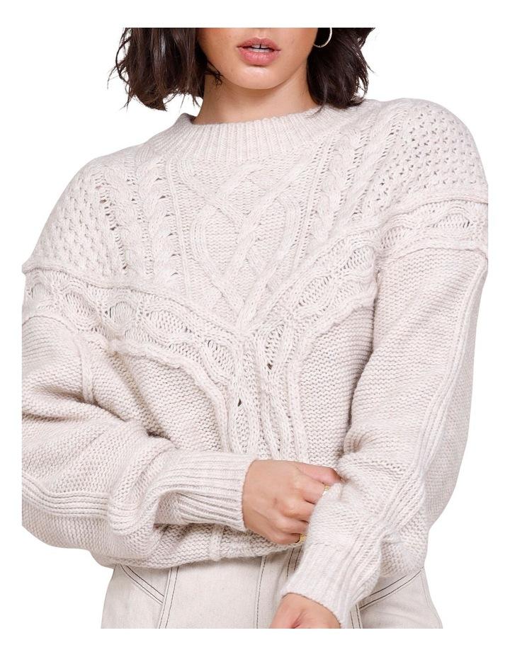 Westward Knit Sweater Ivory image 4