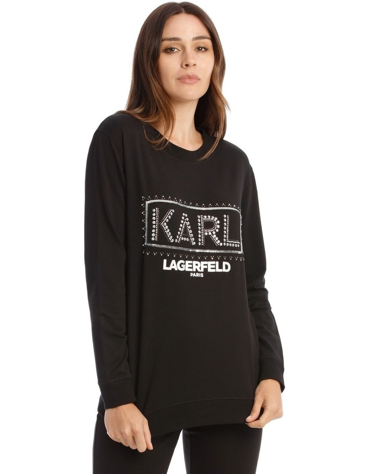 Sequin Karl Sweatshirt image 1