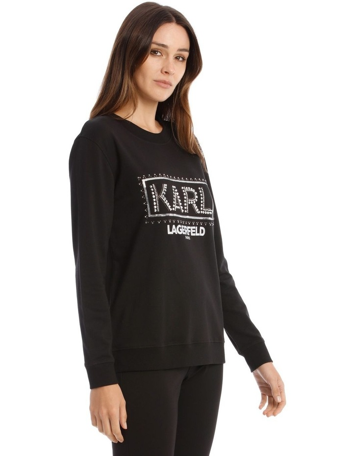 Sequin Karl Sweatshirt image 2