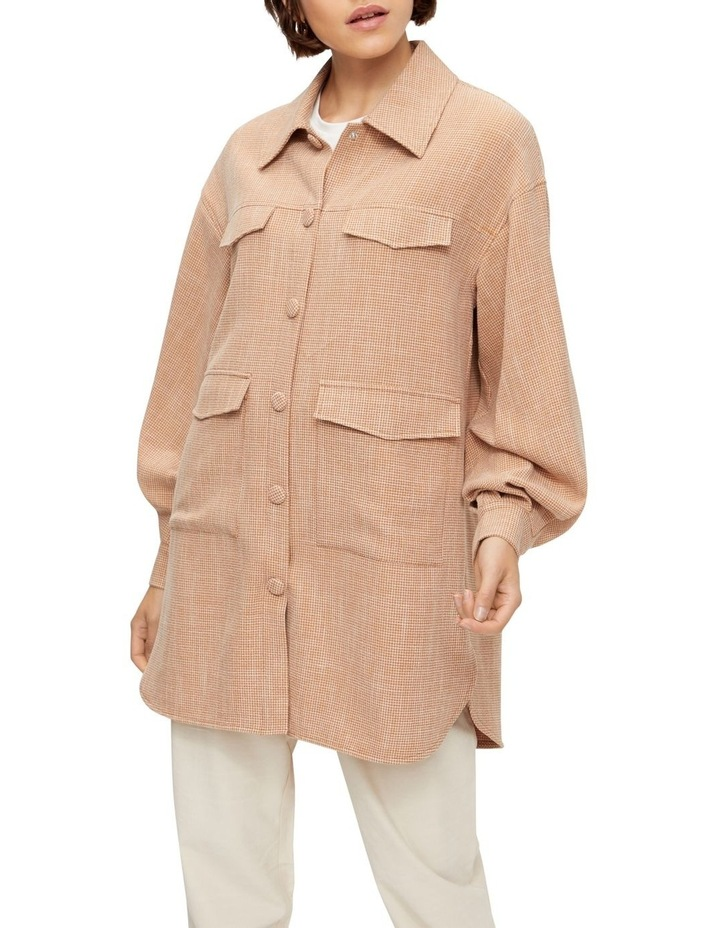Melva Long Sleeve Long Shirt image 1