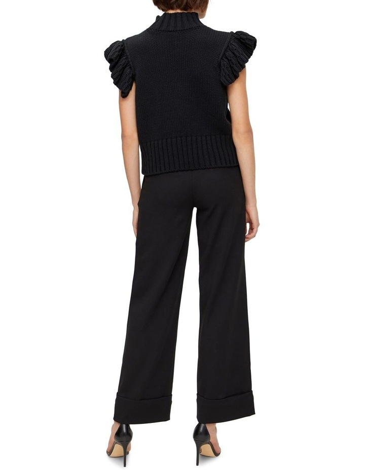 Meggy Short Sleeve Knit Vest image 2