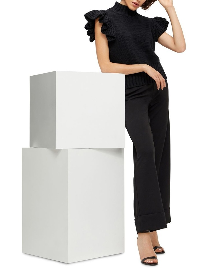 Meggy Short Sleeve Knit Vest image 4