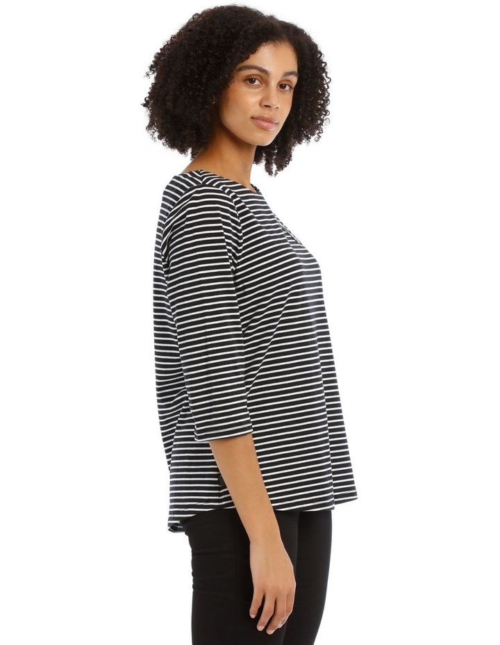 Stripe Tee with Choupette image 2