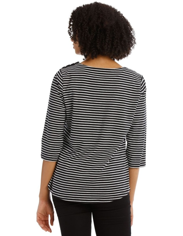 Stripe Tee with Choupette image 3