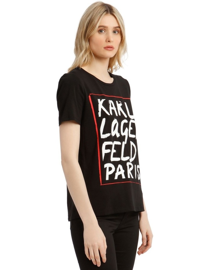 Karl Logo Painted T-Shirt image 2