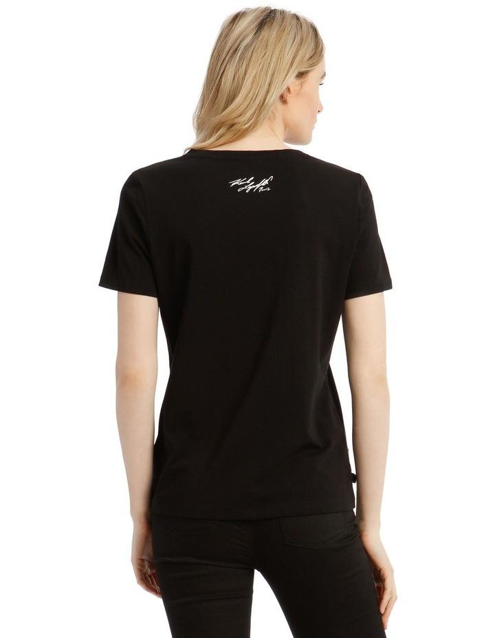 Karl Logo Painted T-Shirt image 3