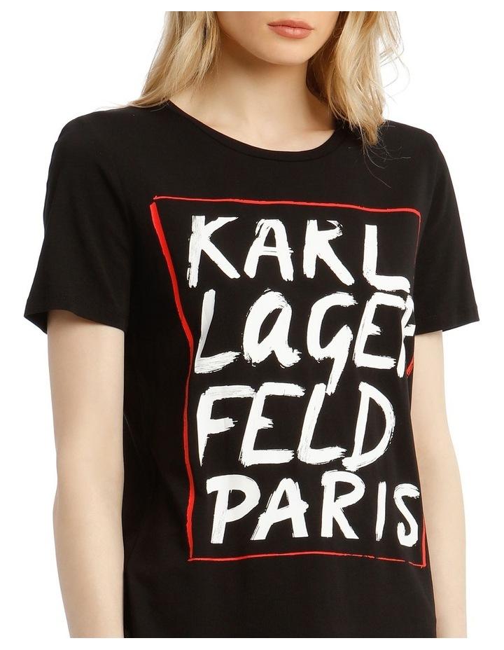 Karl Logo Painted T-Shirt image 4