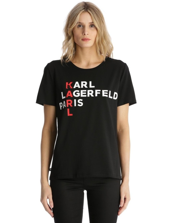 Vertical 'Karl' T-Shirt image 1