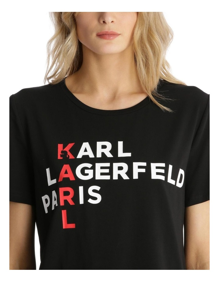 Vertical 'Karl' T-Shirt image 4