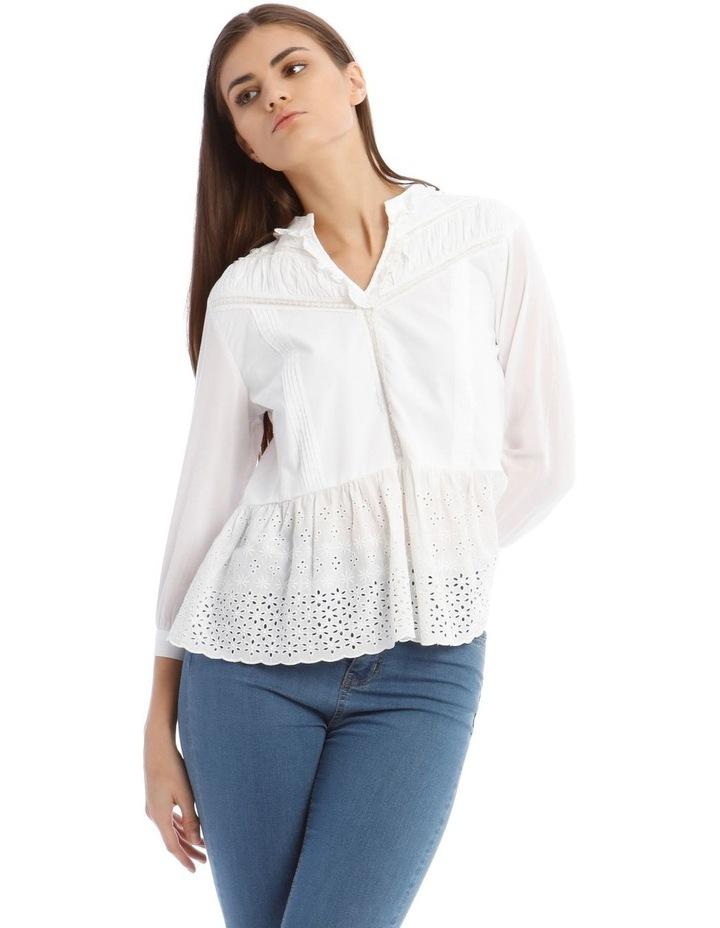 White Lace Blouse image 1