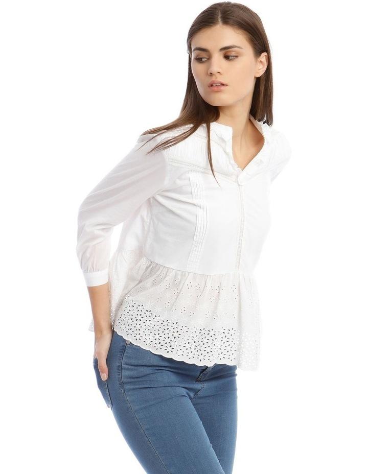 White Lace Blouse image 2