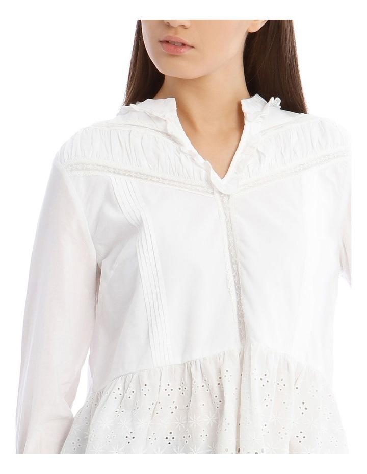 White Lace Blouse image 4