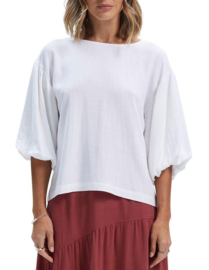 Amara Long Sleeve Blouse White image 1