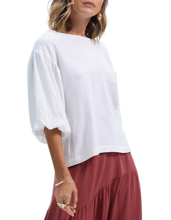Amara Long Sleeve Blouse White image 2