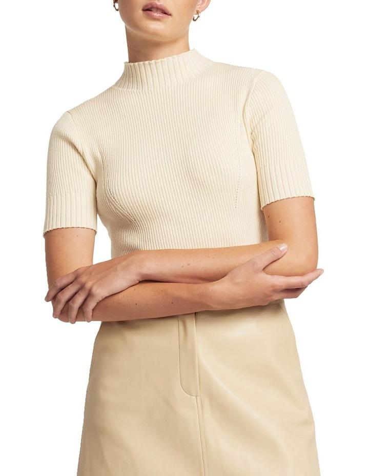 Andie Merino Short Sleeve Knit image 1