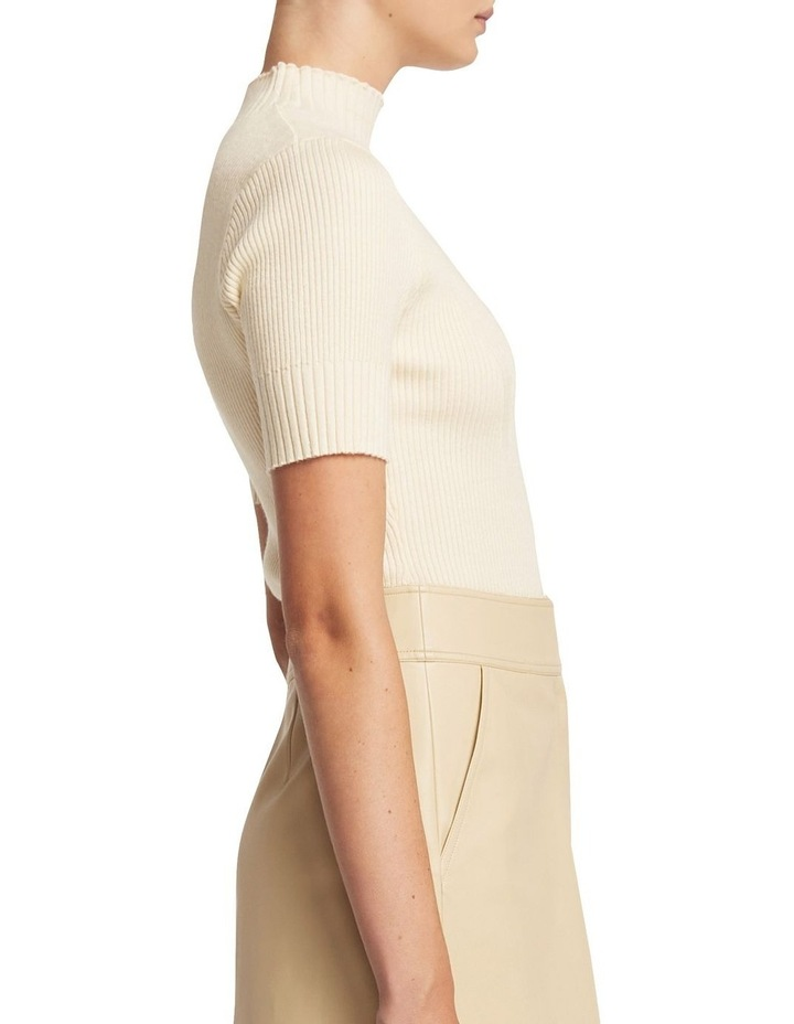 Andie Merino Short Sleeve Knit image 2