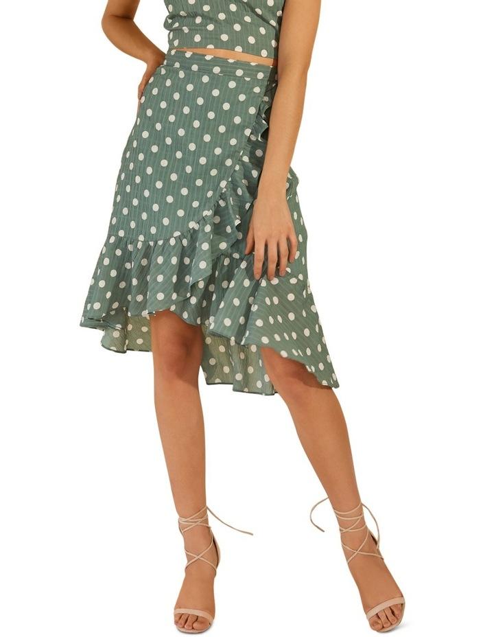 That Way Ruffle Midi Skirt image 1