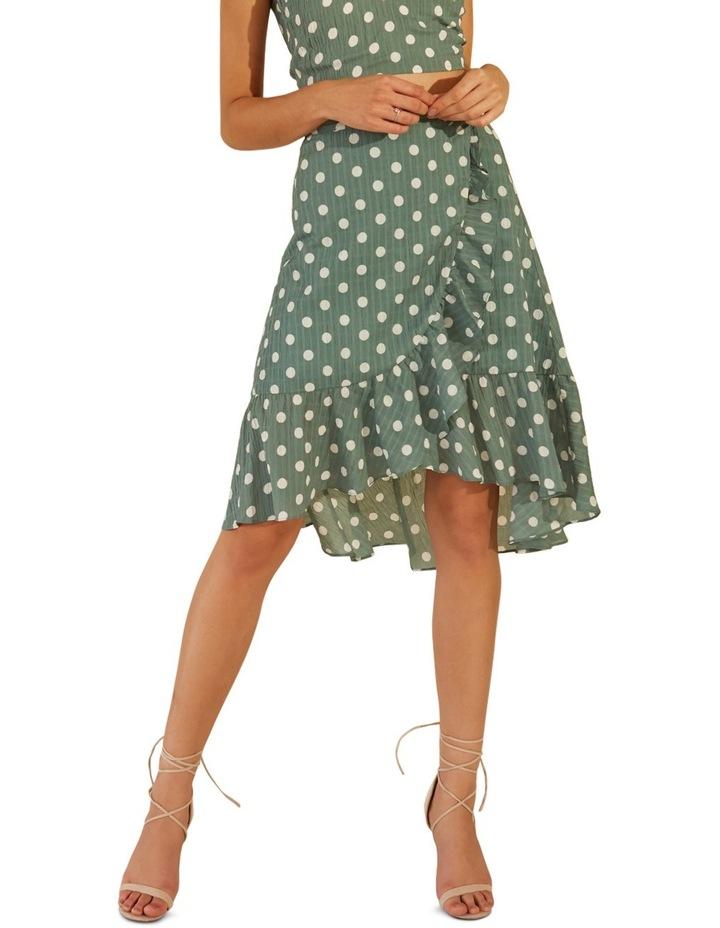 That Way Ruffle Midi Skirt image 3