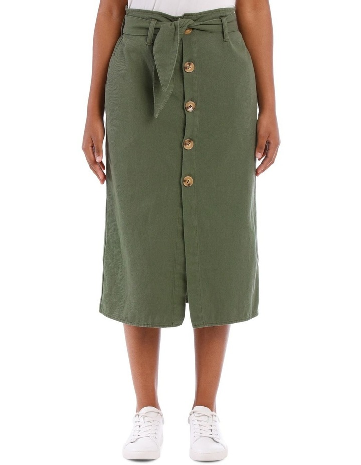 Eden Denim Midi Skirt image 1