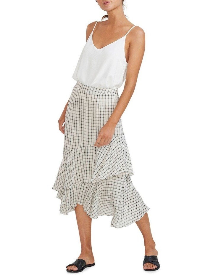 Checkmate Ruffled Skirt image 1