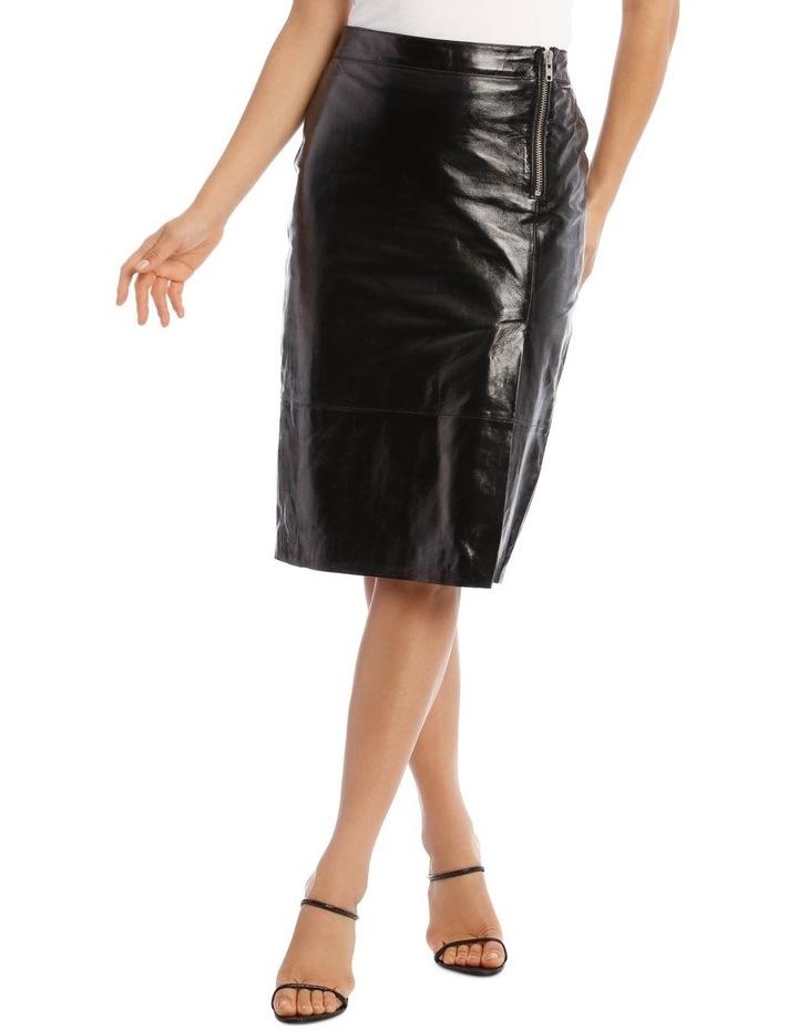 Cama Leather Skirt image 1