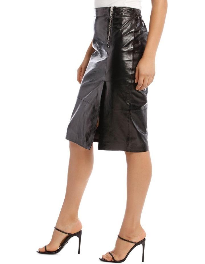 Cama Leather Skirt image 2