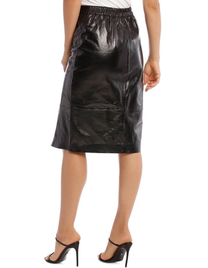 Cama Leather Skirt image 3
