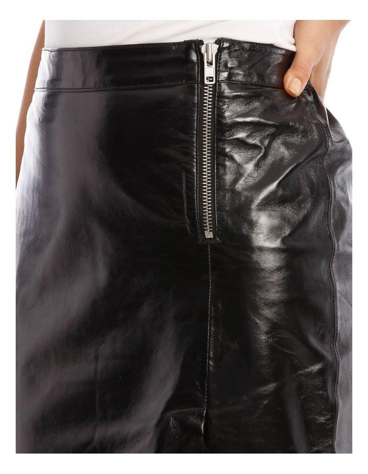 Cama Leather Skirt image 4