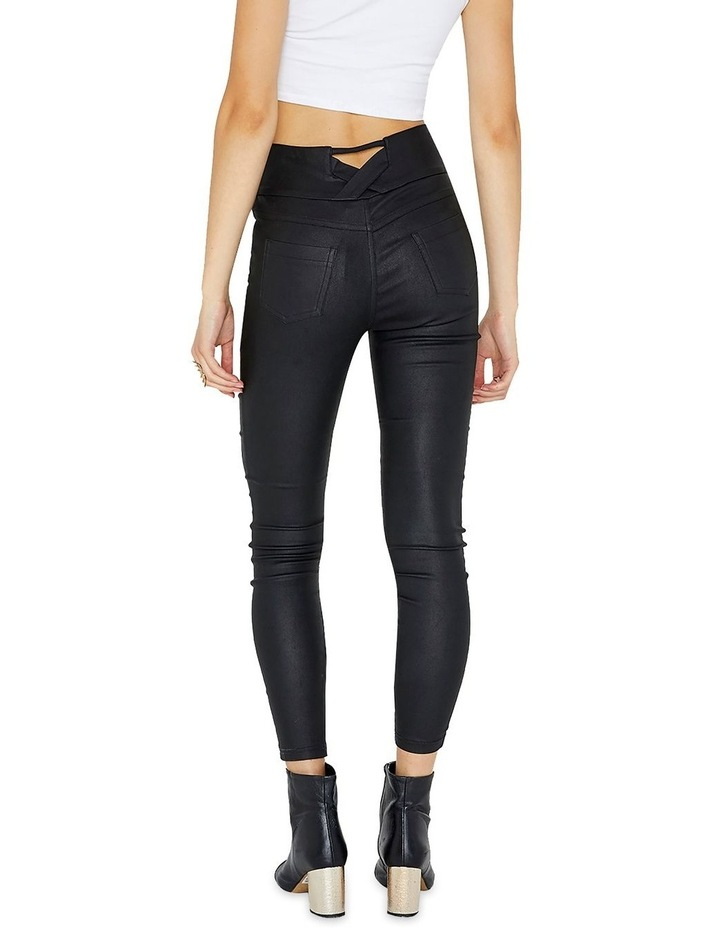 Coated Slim Fit Stretch Jegging image 2