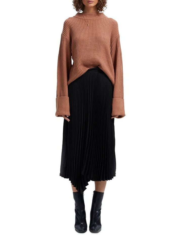 Avery Pleated Midi Skirt image 1