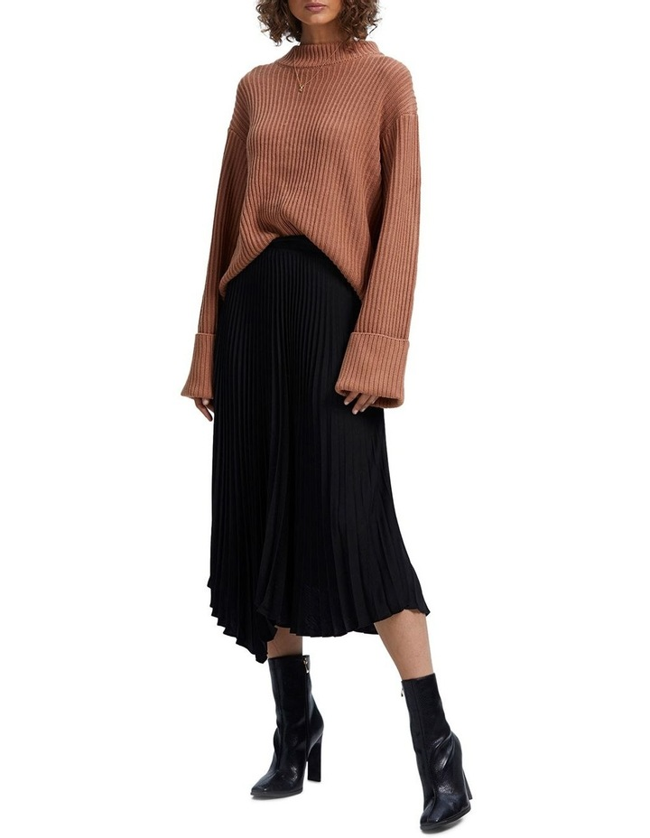Avery Pleated Midi Skirt image 2