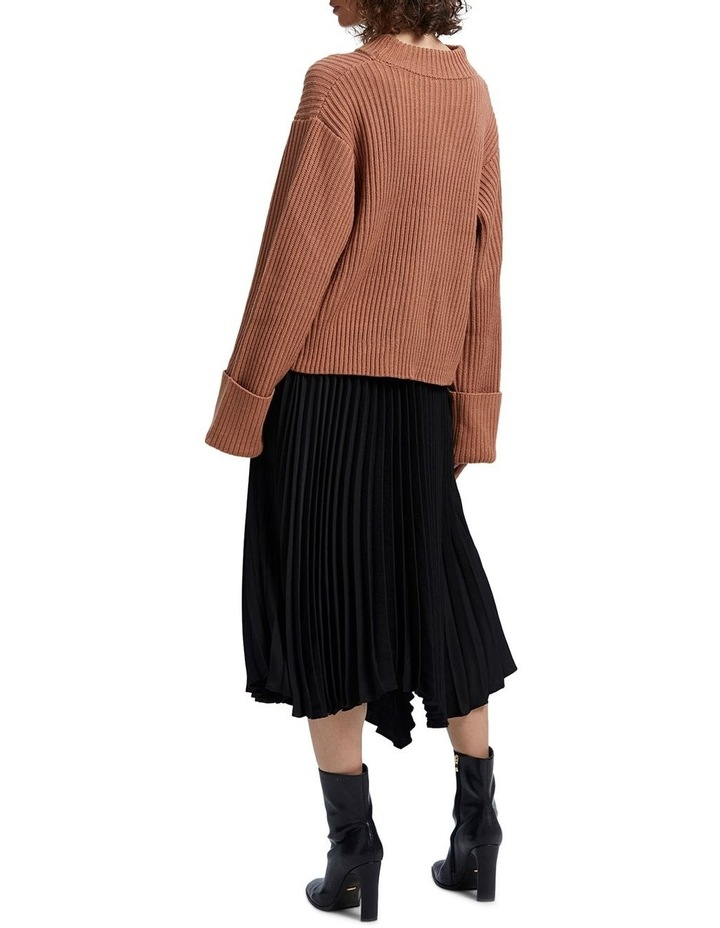 Avery Pleated Midi Skirt image 3