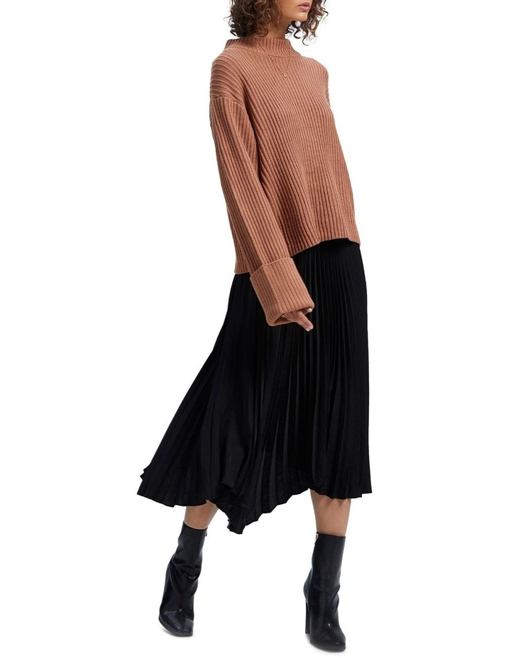Avery Pleated Midi Skirt image 4
