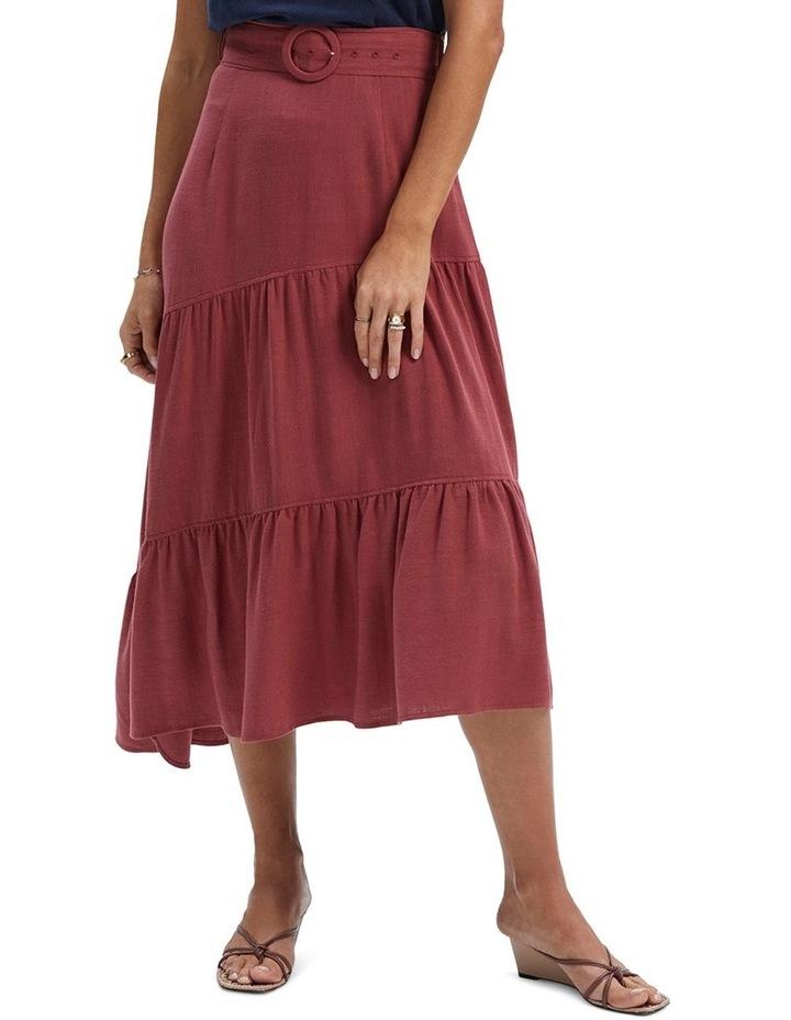 Amara Belted Midi Skirt image 1