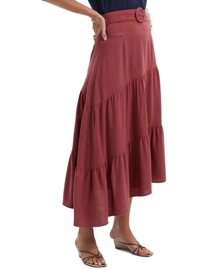 Amara Belted Midi Skirt image 2