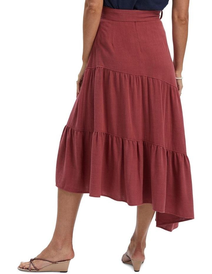Amara Belted Midi Skirt image 3