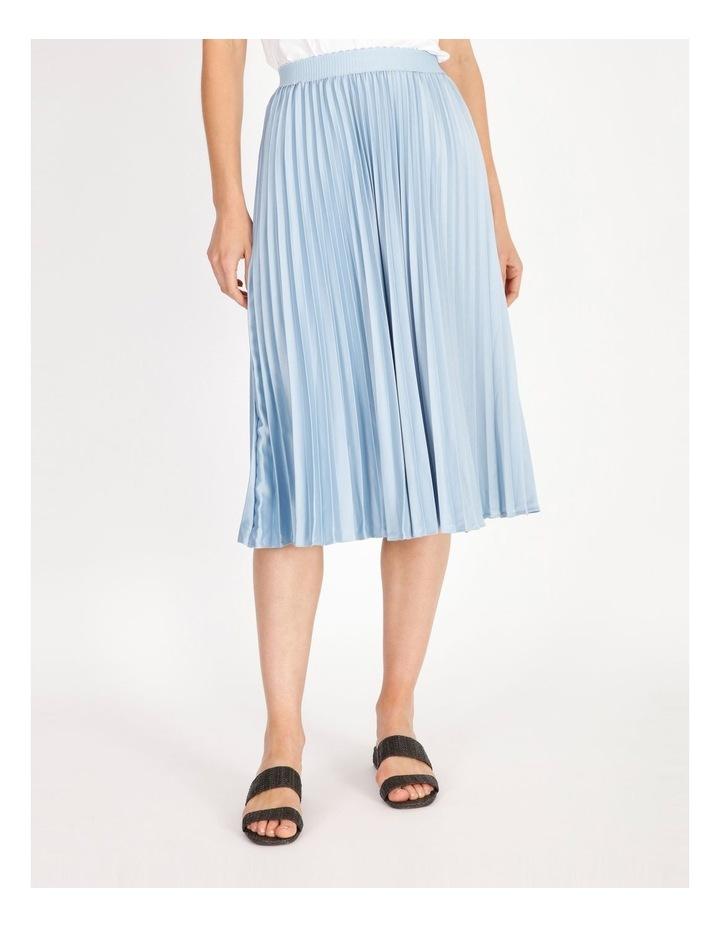 Soft Pleated Midi Skirt image 1