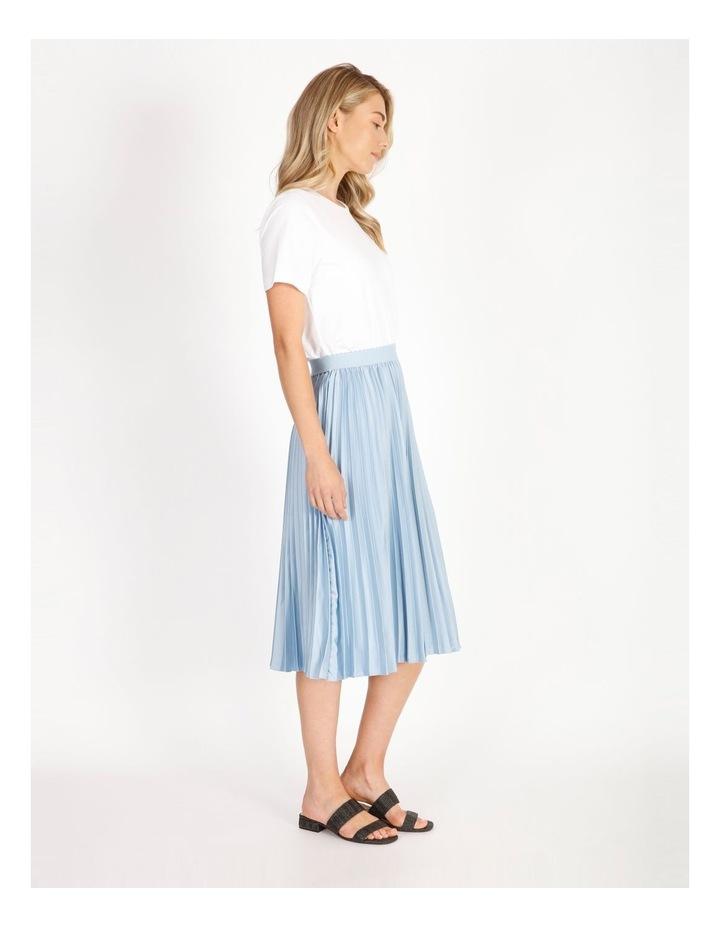 Soft Pleated Midi Skirt image 2