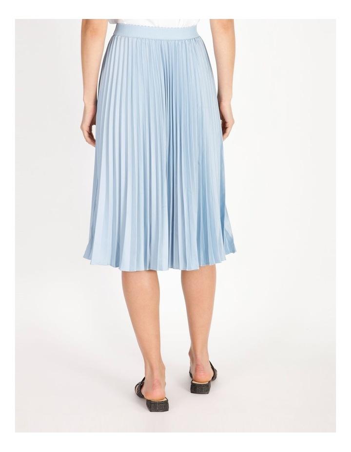 Soft Pleated Midi Skirt image 3