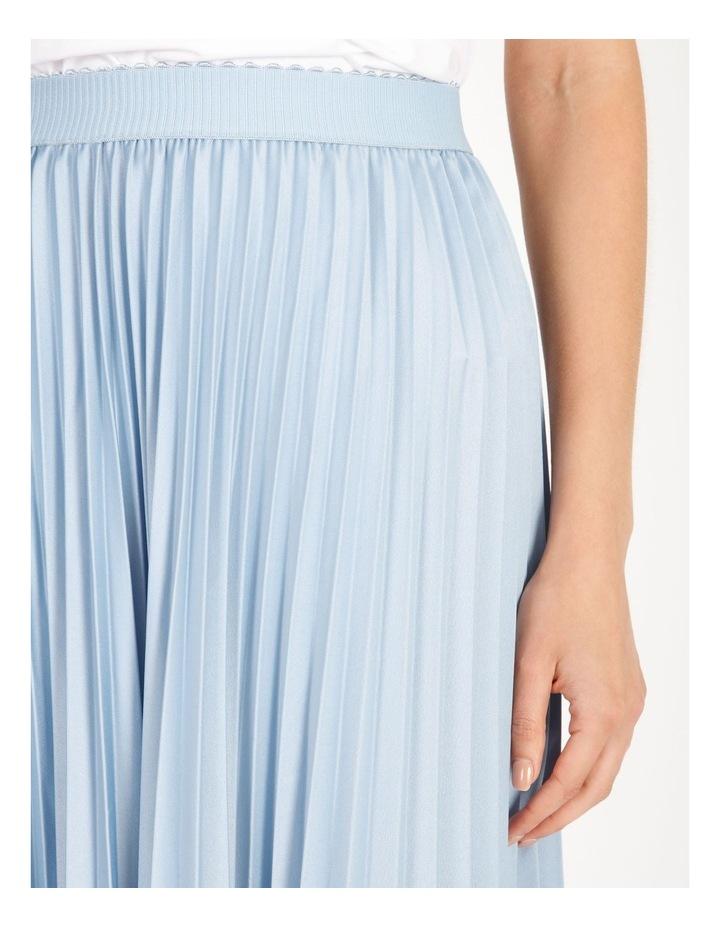 Soft Pleated Midi Skirt image 4