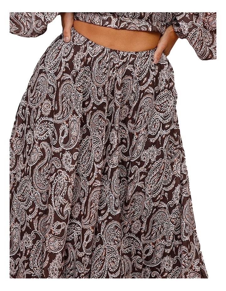 Prairie Asymmetrical Midi Skirt image 4