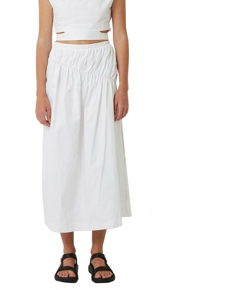 Riley Gathered Midi Skirt image 1