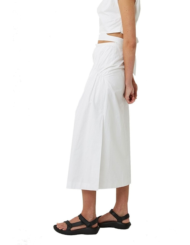 Riley Gathered Midi Skirt image 2