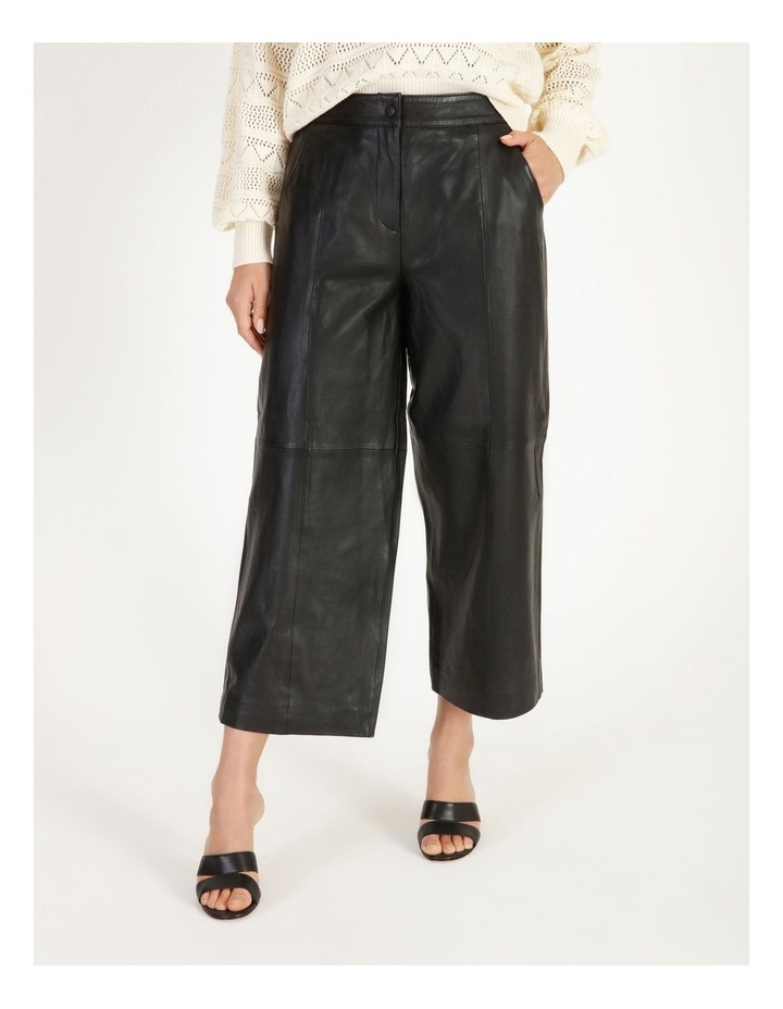 Rio Cropped Leather Pant image 1