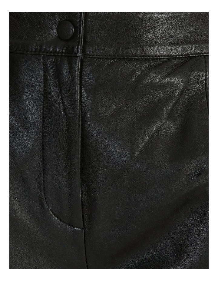 Rio Cropped Leather Pant image 5