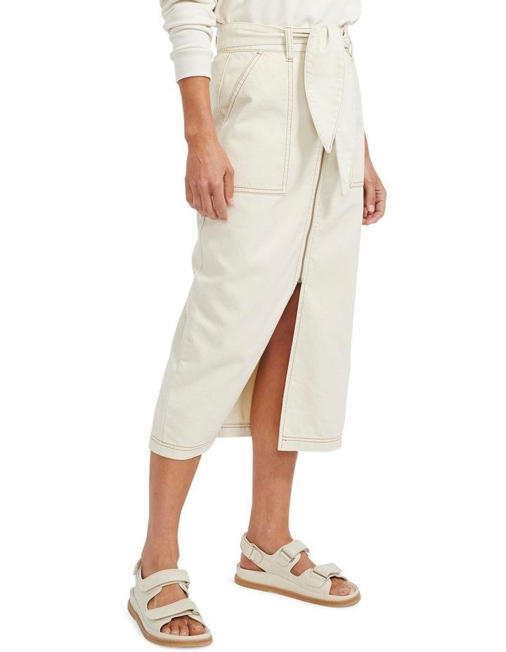 Sasha Denim Midi Skirt image 2