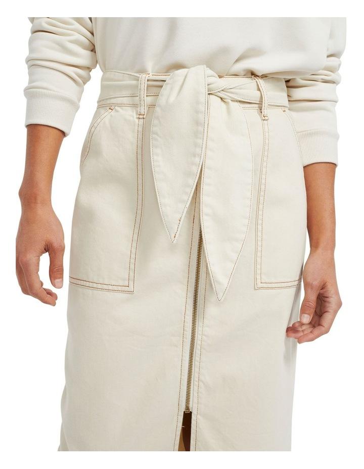 Sasha Denim Midi Skirt image 4
